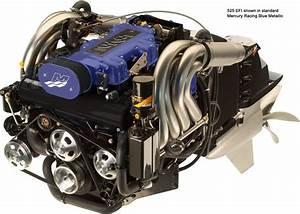 Mercury Racing 525 Efi Performance Inboard Marine Engine