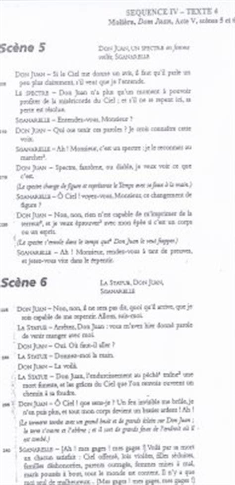 Dom Juan Resume Acte 1 by Dom Juan Acte V Sc 232 Ne 5 Et 6 De 1turquoisebac