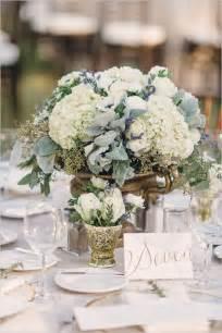 simple  rustic diy hydrangea wedding centerpieces ideas