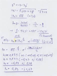 Komplexe Rechnung : komplexe l sung zu z 2 2 3j mathelounge ~ Themetempest.com Abrechnung