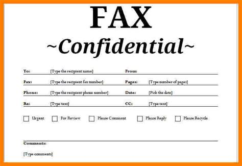 12808 business fax cover sheet template 10 free confidential fax cover sheet ledger review