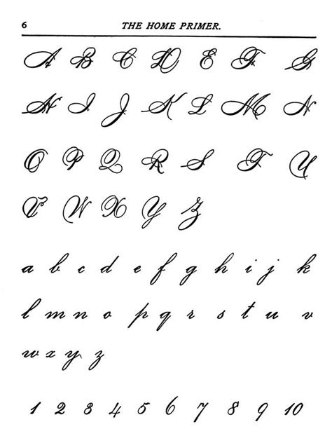 cursive writing    capital miscellaneous stuff