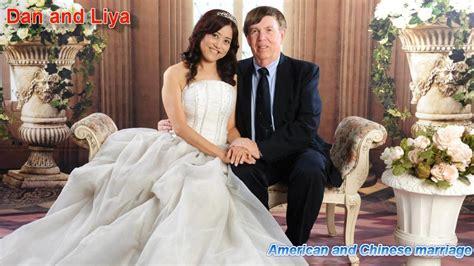 American And Chinese Marriage  Dan And Liya Youtube
