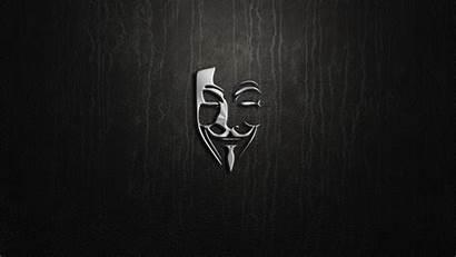 Hacker Mask Minimal Artwork Desktop