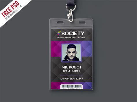 id card design template corporate office id card psd template psd print template
