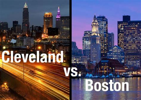 Cleveland Personal Care Cleveland Ms by Boston Vs Cleveland Compare The Cities And Their Sports