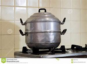 Steamer Pot.6cup Cooked Potstyle Rice Cooker And Food ...