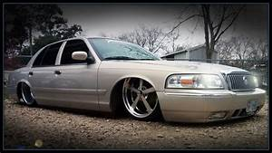 Bagged Mercury Grand Marquis On 22s  U0026 24x12s By Slaughter