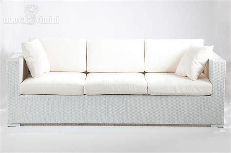 divano  posti carpi white  rattan sintetico prezzi