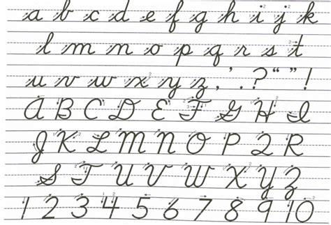 cursive uppercase letters cursive alphabet your guide to cursive writing science 21268 | 1200px Cursive 700x478