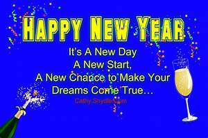 Happy New Year Wishes for Friends - Cathy