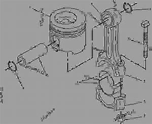 4w3652 Piston  U0026 Rod Group - Engine - Generator Set Caterpillar 3116