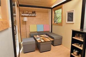 Living In The Box : whimsical 140 sq ft portable tiny box house small house decor ~ Markanthonyermac.com Haus und Dekorationen