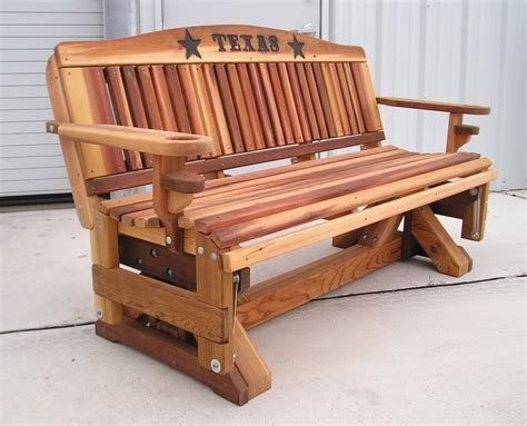 woodwork bench glider plans  plans