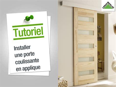 meuble cuisine 45 cm profondeur comment poser une porte coulissante en applique leroy
