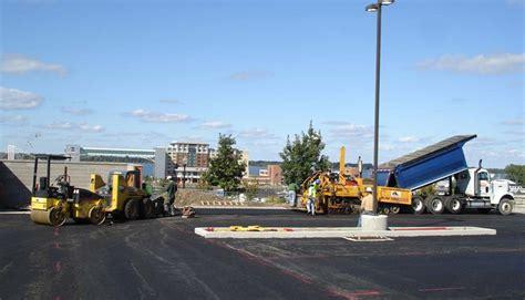 Construction Lot parking lot construction parking lot repair company