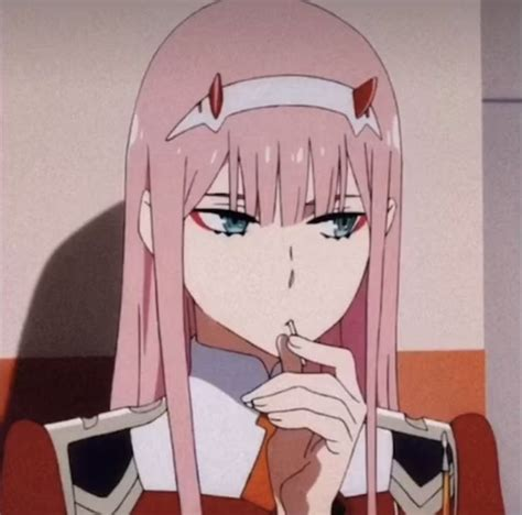 Zero Two Pfp Anime Expressions Anime Cute Anime Character