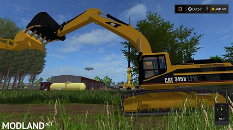 caterpillar  excavator mod farming simulator