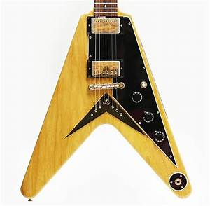 1982 Gibson Flying V Korina Reissue