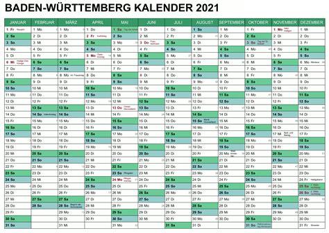 Sie können die kalender auch auf ihrer webseite einbinden oder in ihrer publikation abdrucken. Kalender Baden-Württemberg 2021 Zum Ausdrucken | Druckbarer 2021 Kalender
