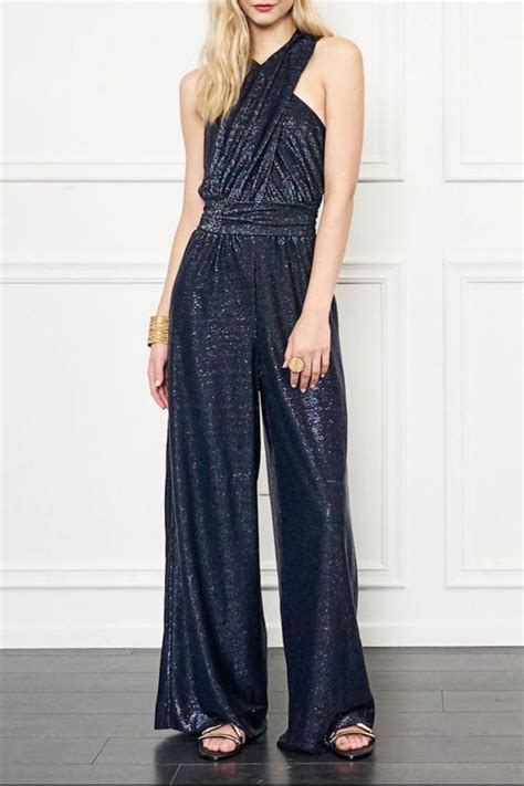 zoe jumpsuit zoe shane halter jumpsuit from back bay by max
