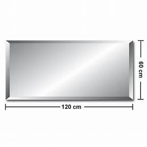 Rahmen 80 X 120 : rahmenloser kristallspiegel wandspiegel badspiegel spiegel 60x120 18mm facette ~ Bigdaddyawards.com Haus und Dekorationen