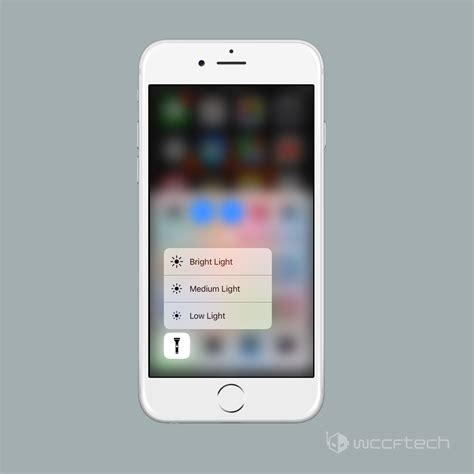 how to turn flashlight on iphone how to adjust iphone flashlight brightness in ios 10