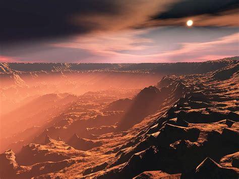 Mars Surface Wallpaper