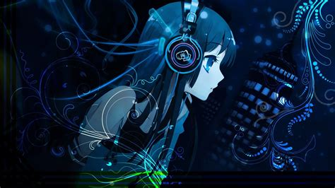 Anime Headphones Wallpaper - anime wearing headphones wallpaper 26 for desktop