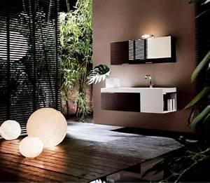 deco salle de bain esprit zen deco sphair With salle de bain esprit zen