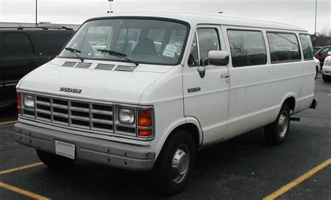 1991 Dodge Ram Van Information And Photos Zombiedrive