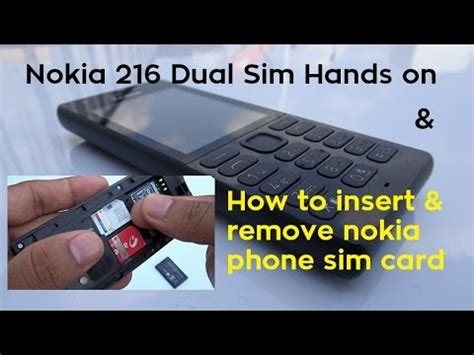 how to take sim card out of iphone 4 nokia 216 dual sim on how to insert remove sim 21407