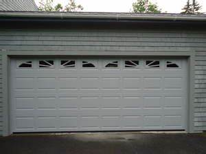 New 16x7 garage door installed in castine maine by for 16x7 steel garage door