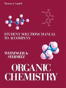 Student U0026 39 S Solutions Manual To Accompany Organic Chemistry