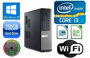 Dell Optiplex 790 Desktop I3  I5 Dual  Quad Core 4  8gb Ram 250gb Hd Usb 3 0 Win 10