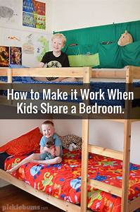 How to Make it Work When Kids Share a Bedroom.