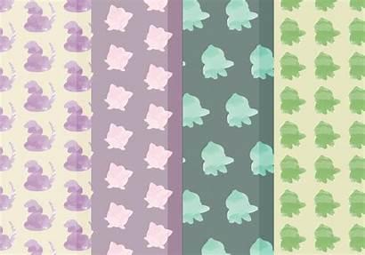 Pokemon Patterns Vector Pattern Svg Seamless Vectors