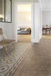 Parquet Imitation Carreaux De Ciment : best 25 tiled hallway ideas on pinterest hall tiles ~ Farleysfitness.com Idées de Décoration