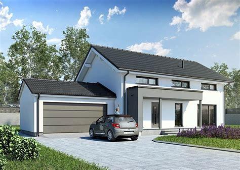 Häuser Mit Satteldach Und Garage doppelgarage mit satteldach und abstellraum dg sta