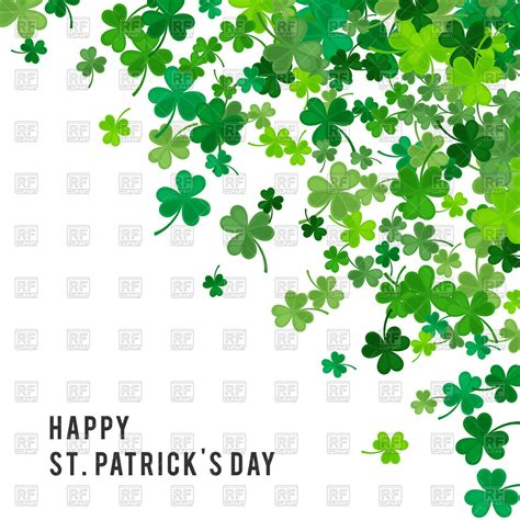 St Patricks Day Background St S Day Background Vector Image Vector Artwork