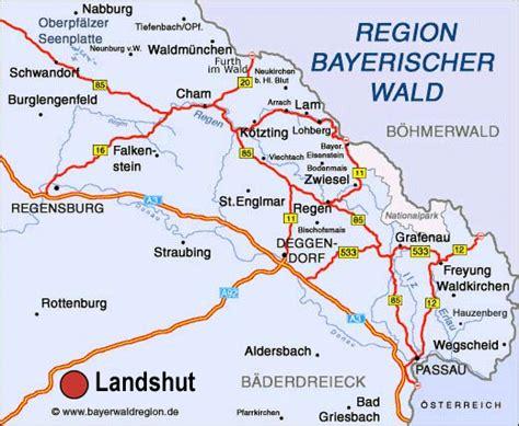 Wanderwege Bayern Karte