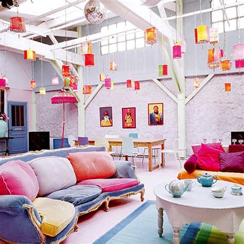 Colorful Interior Design by Unique Colorful Interior Designs Ideas Home Design Ideas