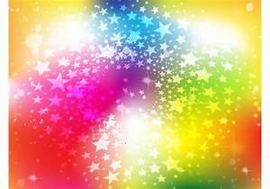 Bright Rainbow Stars Background - Download Free Vector Art ...