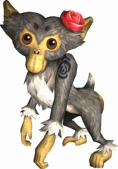 Monkey Twilight Princess Zelda Tp Female Characters
