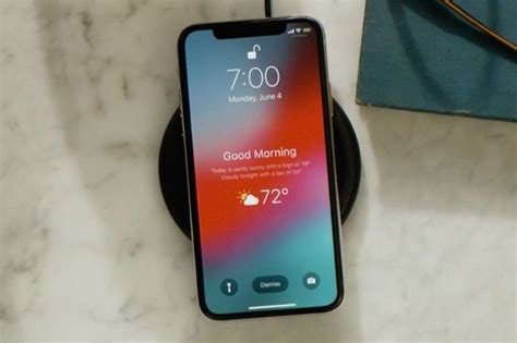 Lock Screen Apple Iphone 11 Pro Wallpaper by Unlock The Weather Lock Screen Widget In Ios 12 On