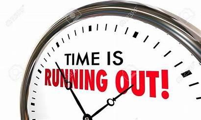 Deadline Enrollment Reminder Running Clock March Castle
