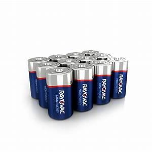 Batterie 1 5 Volt : rayovac high energy alkaline c 1 5 volt battery 12 pack ~ Jslefanu.com Haus und Dekorationen
