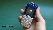 Sony Ericsson K300(i) retro review (old ringtones, themes & games) - YouTube