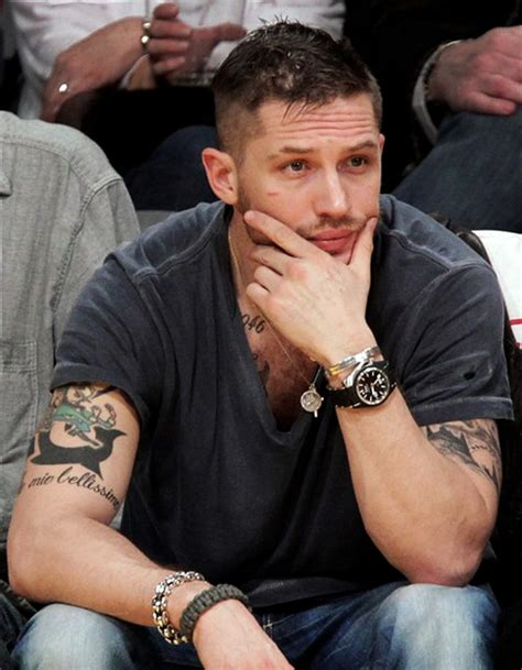 fabulous tom hardy the way the haircut in lawless for