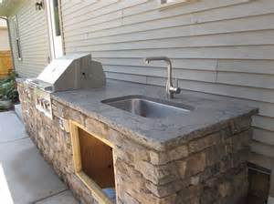 outdoor kitchen sinks ideas sunstone grills outdoor kitchen and slide in side burner http sunstonemetalproducts